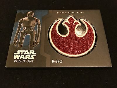 2016 Topps Star Wars Rogue One 98 /100 Patch Card K-2so Sp #2 Force Ssp