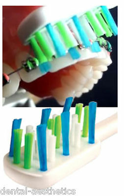 Easy Braces Orthodontic Toothbrush ~ Ortho Brush with Bristles to Clean Wires