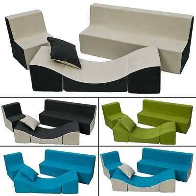 Soft Foam Furniture Set: Chair+Sofa+Coach for Kids, Children, Comfy, Relax,Play