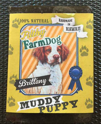 Brittany / Bar of Dog Soap / Fun Graphics / Unique Gift / All Natural