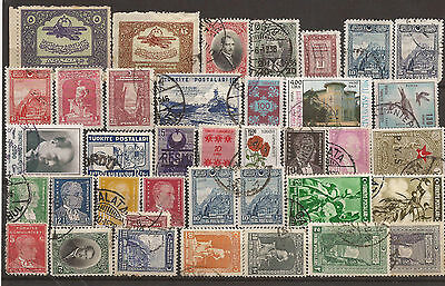 Turkey. Mixture. Selection Of Used Stamps.