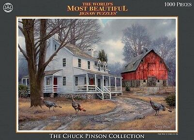 Chuck Pinson Collection 1,000 Piece Jigsaw Puzzle - The Way Life Was Like