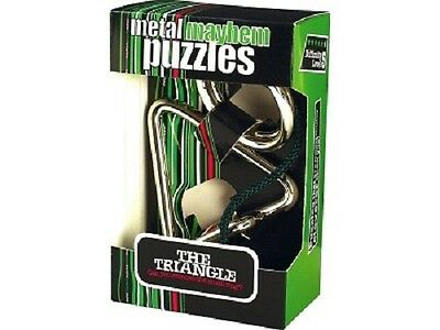 Professor Puzzles Metal Mayhem Puzzle - The Triangle