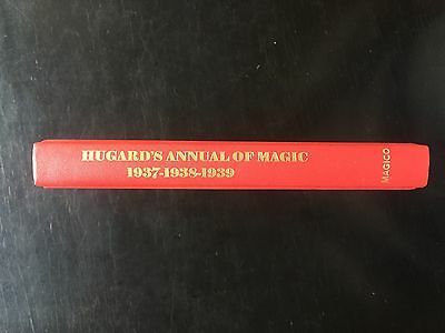 Hugard's Annual Of Magic 1937, 1938 & 1939 - NEW