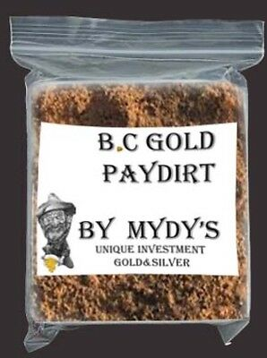1.5 Lbs Gold Paydirt Unsearched and 100% Added GOLD! Panning Nuggets (#41013)