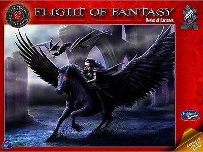 1,000 Piece Jigsaw Puzzle - Anne Stokes: Flight Of Fantasy: Realm Of Darkness