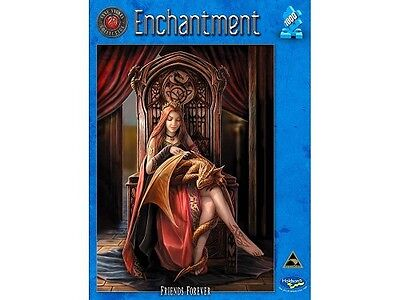 Holdson 1,000 Piece Jigsaw Puzzle - Anne Stokes; Enchantment: Friends Forever
