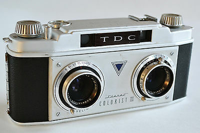 TDC Bell & Howell Stereo Colorist II Vintage 35mm Stereo Camera