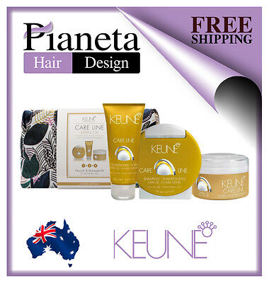 Keune Care Line Satin Oil Gift Pack - Shampoo, Conditioner & Treatment