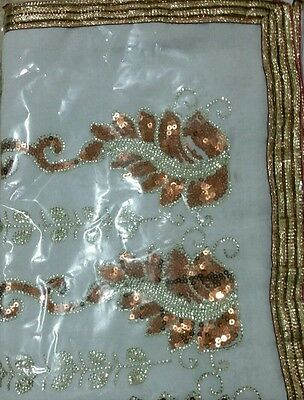 Ladies Saree, Indian Fashion, Saree gold design-Fast delivery *SALES*