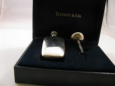 Tiffany & Co. Sterling Silver Perfume Decanter with Funnel