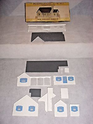 Plasticville O & S Ga Parts Lot: New England Rancher Kit Mh-2 129, Ob-Incomplete