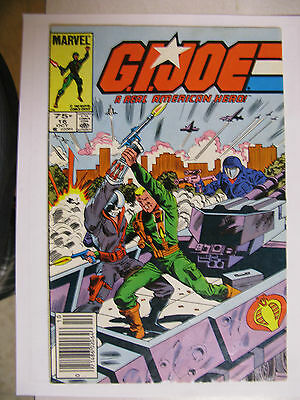 G.I Joe A Real American Hero #16 Rare Canadian Price variant 75C - Good+