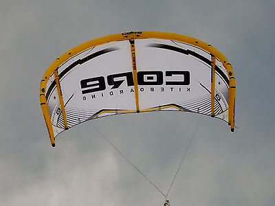 CORE GTS2, 11 meter kiteboarding, kitesurfing wave kite. ..WORLD RECORD KITE!!