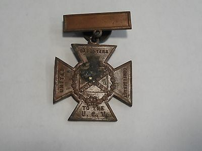 United Daughters of the Confederacy UCV Southern Cross of Honor Medal 1861 1865!