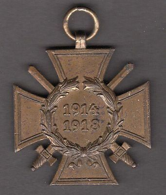 Germany Hindenburg Cross ERK Combatants WW1 German War Medal Honor 1914 1918