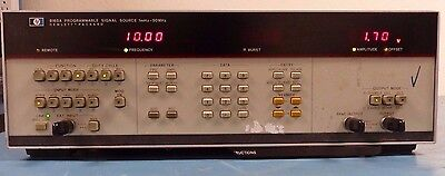 HP 8165A Programmable Signal Source