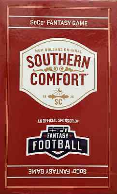Southern Comfort SoCo Fantasy Football Game New Cards