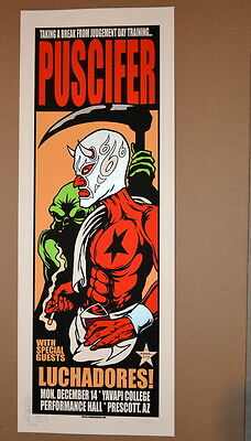 Puscifer - Tool - 2015 - Prescott - A/p -Embellished -  Jermaine Rogers - Poster