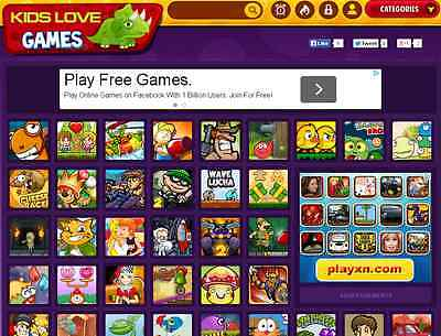 Automated Online Games Website