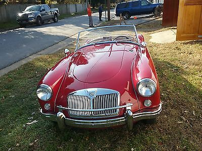 1959 MG MGA  Rust-free combination of original, low miles, and gorgeous restoration