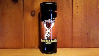 Sandeman Port Metal Bottle Container - container only!