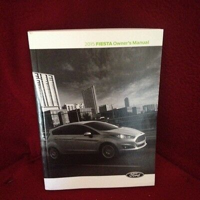 2015 Ford Fiesta Owners Manual