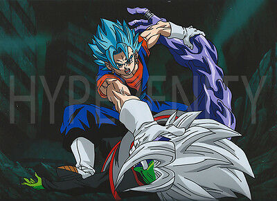 Animation Cel Art Commission repro Anime 2 Characters Dragon ball Naruto free sh