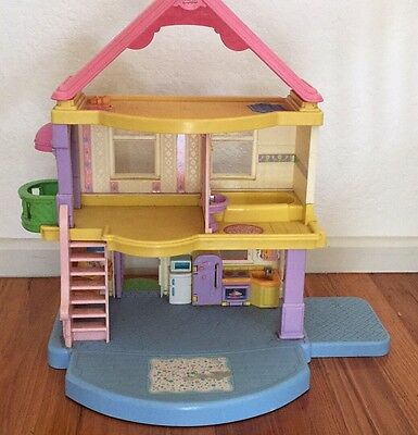 Fisher Price My First Dollhouse Only Plus Kitchen Accessories