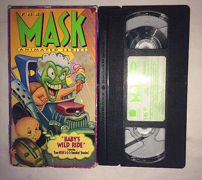 the mask the animated series babys wild ride vhs 1995 rare