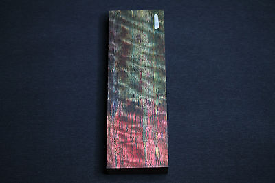 Knife block handle Dyed and Stabilised