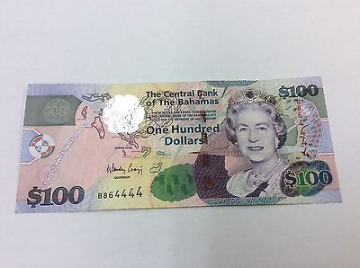 9Bahamas 2009 P76 $100 Note Qeii Condition: Ef #444 Best Prices On Ebay!