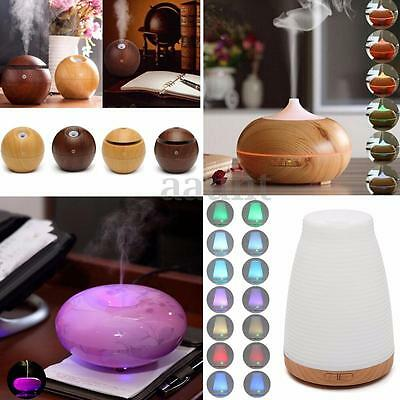 Fashion LED Essential Oil Aroma Diffuser Ultrasonic Air Aromatherapy Purifier