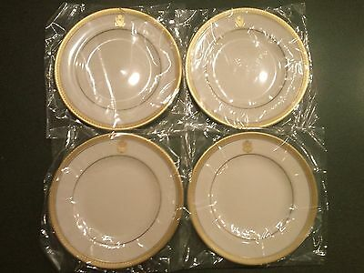 "Pickard Gold Bracelet Ivory with Eagle Crest Fine China 6-3/8"" Butter Plate 4"