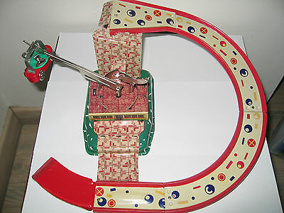 Collectable Clock-work Tin Plate Skyway Toy