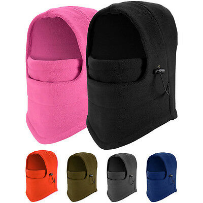 New Men Women Winter Fleece Balaclava Hat Ski Motorcycle Neck Face Mask Hood Cap