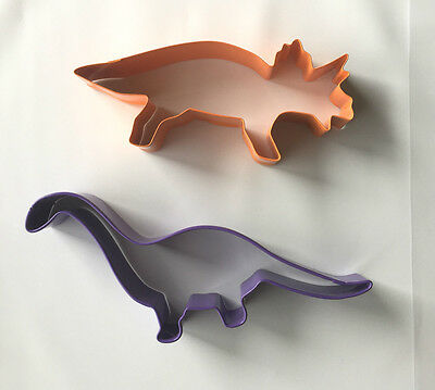 Dinosaur shape cookie cutters