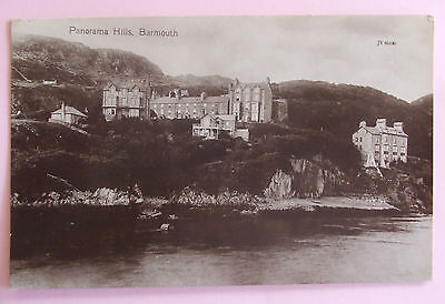 RP Postcard 1924 PANORAMA HILLS BARMOUTH MERIONETHSHIRE WALES