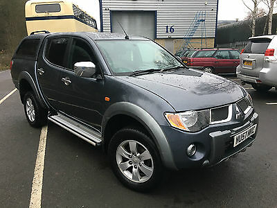 2007 Mitsubishi L200 Diamond 2.5 Di-D D/c Automatic, Full Engine Rebuild,