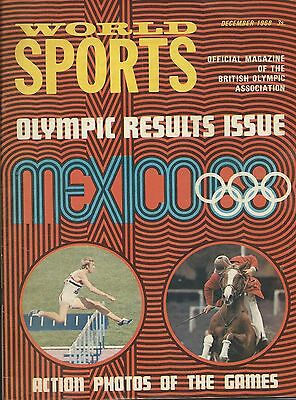 """Olympics, """"world Sports"""" Olympic Results Issue, Mexico 1968"""