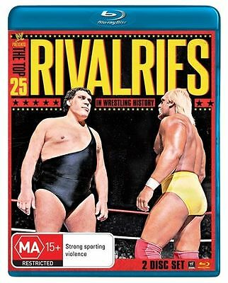 WWE - Top 25 Rivalries In WWE History Wrestling New BLURAY Stone Cold, McMahon