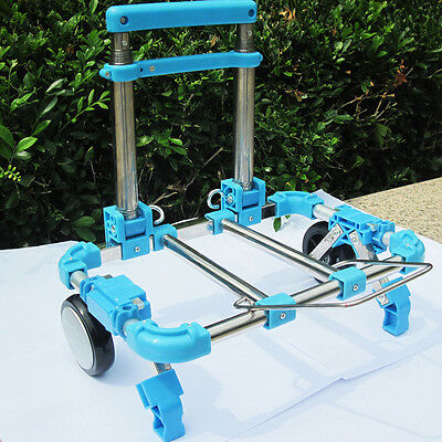 Portable Shopping Hand Cart Foldable Travel Luggage Transport Trolley Latest