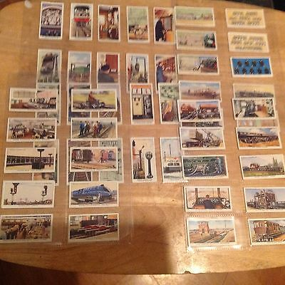 Cigarette Cards by WD & HO Wills  Railway Equipment Full Set of 50 Nice Conditio