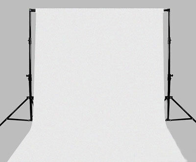 Background White 3 x 6 meters 10 x 20 Photography Photo muslin backdrop 3m x 6m