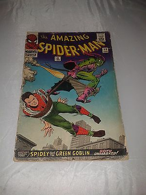 The Amazing Spiderman Spider-Man # 39 Marvel Comic Green Goblin