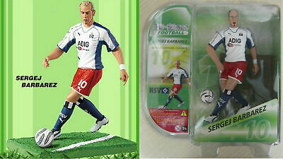 SERGEJ BARBAREZ Action Figures 3D Stars Football (h 15cm) Hamburger SV NUOVO NEW