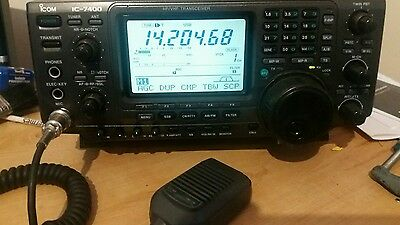 Icom IC-7400 Transceiver Boxed with manual