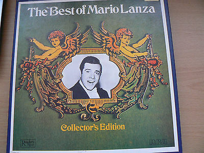 Mario Lanza Vinyl Box Set of 6 LP Records