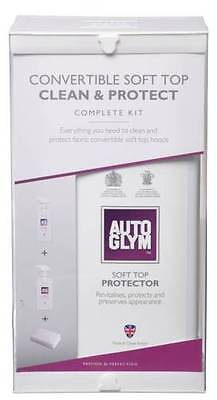 AUTOGLYM Convertible Soft Top Clean & Protect Kit + FREE PAIR OF RUBBER GLOVES!