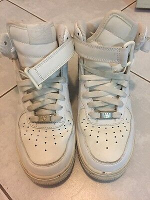 Women's Nike Air Force 1, Leather, White, Size US 6, Excellent
